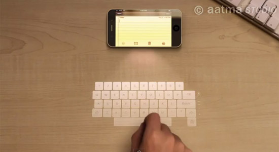 iphone5-holographic-keyboard