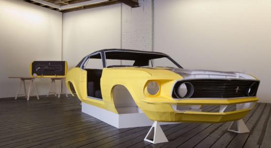 Jonathan Brand paper Mustang