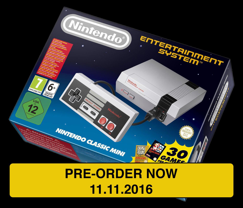 Nintendo NES mini pre-order 11.11.2016